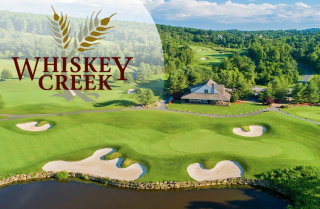 picture of whiskey creek golf course and club house